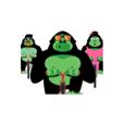 Gorilla greenApes